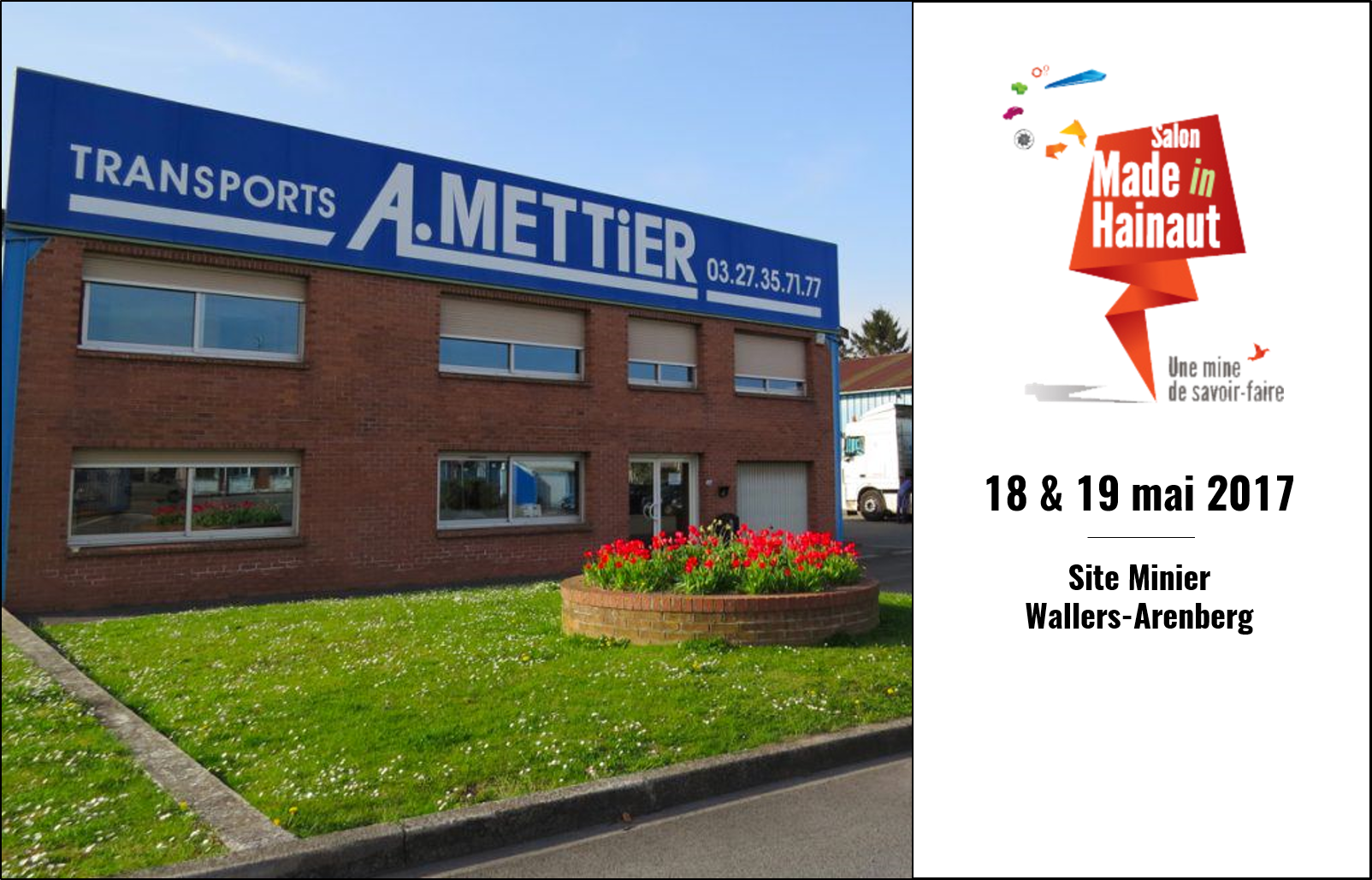 A.Mettier présent au salon Made In Hainaut